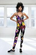 Discount Universe Thrills And Chills Bodysuit Jumpsuit Sequin Bead Rave Club New