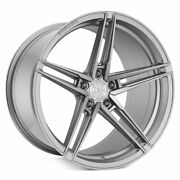 20 Rohana Rfx15 Silver 20x9 Forged Concave Wheels Rims Fits Acura Tsx