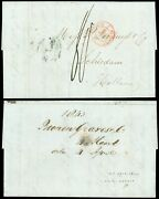 1843 Stampless Trx Fls, Ny - Roonen Graves And Co - Loopuyt And Co Schiedam, Holland