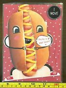 Youand039re A Hot Dawg Moving Cute Valentine Valentines Day Card New With Envelope