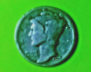 1925pmercury Silver Dime Coin Is A Represention Of The Thought Of Liberty