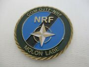 Nato Response Force Nrf Joint Task Brunssum Deputy Chief Of Staff Challenge Coin