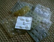 Lot Of Candy And Lollypop Molds Assorted Christmas Easter Valentines Nature Etc