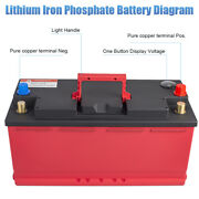 Dohon 12v 110-20 2100cca Lithium Phosphate Battery Lifepo4 For Auto Car Wi/ Bms