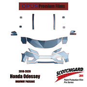 3m Pro Series Precut Paint Protection Clear Bra Kit For Honda Odyssey 2018-2020