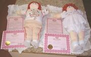 Little People Soft Sculpture Boy / Girl Red Hair- 1985 - With Papers