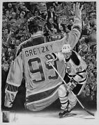 1/1 Wayne Gretzky Original Art | 11 X 14 Unframed | Nhl Licensed | Robb Scott
