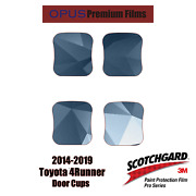 3m Pro Series Paint Protection Kit For Toyota 4 Runner 2014-2019 - Door Cups