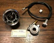 Wards Benelli Mojave 260cc And 360cc Speedometer Kit W/ Drive And Cable Nos