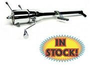 Ididit 1130651020 - 1947-54 Chevy/gmc Pickup Steering Column W/shifter - Chrome