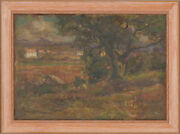 Day Mckillip 1876-1960 - Oil South Of France When On Holiday With The Aunts