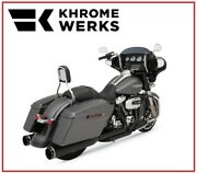 Scarico Khrome Werks Black Nero 2 In 1 System Two Step 09 - 16 Harley Touring