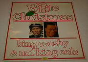 Bing Crosby White Christmas And Nat King Cole Lp 1981 Joker Records Sealed Italy