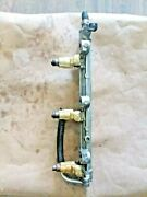 Yamaha F225txrb 225hp Outboard Delivery Pipe 1 69j-13160-00-00 And Injectors