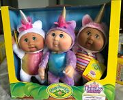 New Costco Excl. Cabbage Patch Kids Fantasy Friends Collectible Cuties 3-pack