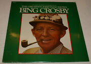 The Greatest Christmas Shows Bing Crosby Bmf-210 Sealed New 1978 Out Of Print