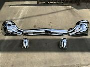 1957 Chevy Belair/ Nomad Front Bumper Oem Triple Plating Chrome