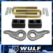Wulf 3 Front 2 Rear Leveling Lift Kit For 88-98 Chevy Silverado Gmc K3500
