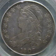 1807 O-114 R3 Capped Bust Half Dollar, Large Stars – Red Book Variety - Pcgs