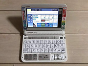 Casio Electronic Dictionary Ex-word Xd-z9800we White English Learn Used