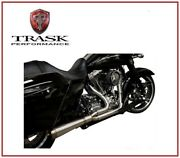 Scarico Trask Assault 2 Into 1 Dritto 17 - 19 Harley Tour