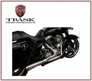 Scarico Trask Assault 2 Into 1 Dritto 09 - 16 Harley Tour