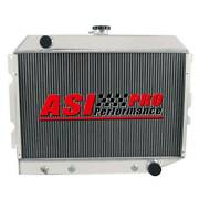 4 Row Aluminum Radiator For 1968-74 Dodge Plymouth Small Block 26 Wide Core Pro