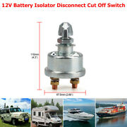 12v Master Battery Isolator Disconnect Cut Off Power Kill Switch Boat Car Truck