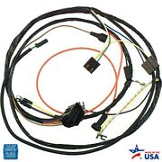 1974 Chevy Cars Engine Harness V8 Manual Transmission With Warning Lights Ea
