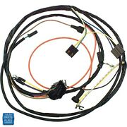 1974 Gm Cars Engine Harness 6 Cylinder Manual Trans With Warning Lights Ea