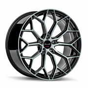 22 Gianelle Monte Carlo Machined 22x9 22x10.5 Wheels Rims Fits Dodge Charger