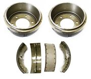 Rear Brake Drums And Shoes For Isuzu Nqr/npr Truck 7.5t 4he1tc/4hk1tc 1998-2013
