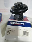 Ac Delco 214-5072 Egr Valve See Picture For Applications