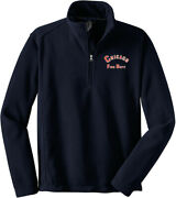 Chicago Fire Department Value Fleece 1/4-zip Pullover Arched F218