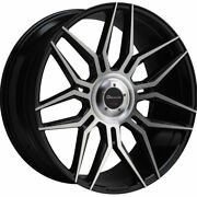 24 Giovanna Bogota Machined 24x10 Concave Wheels Rims Fits Rolls-royce Ghost