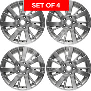 Four 17 Inch Replacement Alloy Wheel Rim Fits Nissan Sentra 2013 2014 2015 2016
