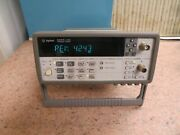 Agilent 53181a 1.5 Ghz Universal Frequency Counter Nr10