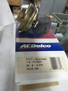 Ac Delco 214-5400 Egr Valve See Picture For Applications