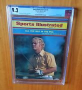 Sports Illustrated 1971 Nicklaus Pga Cgc 9.2 None Higher Pop 1 Newsstand.