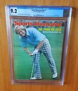 Sports Illustrated 1975 Nicklaus Us Open Cgc 9.2 None Higher Pop 1 Newsstand.
