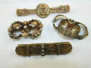 Antique Rolled Gold Lapel Pens And Parts Collector Items Some For Repair