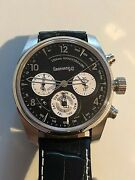 Eberhard And Co. 120th Anniversary Steel Automatic Wristwatch Model No. 31120