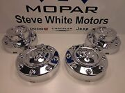 11-16 Dodge Ram 3500 Dually New Front And Rear Wheel Center Hub Caps Cap Mopar Oem