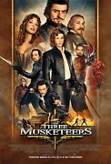 74006 The Three Musketeers Movie 2011 Action Romance Decor Wall Print Poster