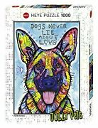 Heye Puzzle Hey Puzzle 29732 Dean Russo Dogs Never Lie 1000 Piece