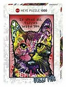 Heye Puzzle Hey Puzzle 29731 Dean Russo 9 Lives 1000 Piece