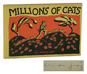 Millions Of Cats Signed By Wanda Gaand039g First Edition 1st 2nd Issue 1928 Gag
