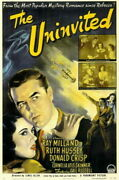 66909 The Uninvited Movie Ray Millan Ruth Hussey Wall Print Poster Ca