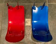 Benelli Dynamo Scrambler And Woodsbike Skid Plate - Nos Choose Red Or Blue