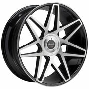 24 Gianelle Parma Machined 24x10 Concave Wheels Rims Fits Cadillac Escalade